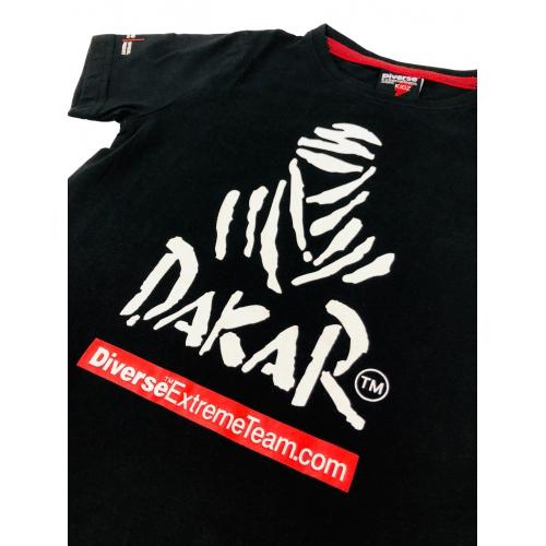 Vaikiški balti marškinėliai DAKAR 2020