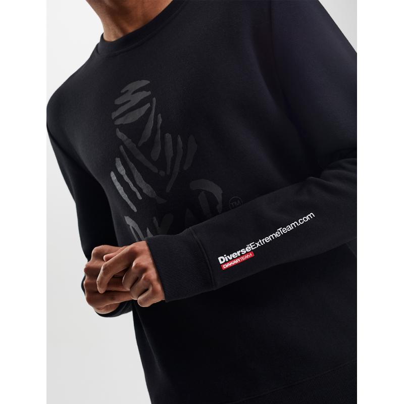 Lengvas juodas vyriškas džemperis DAKAR JL