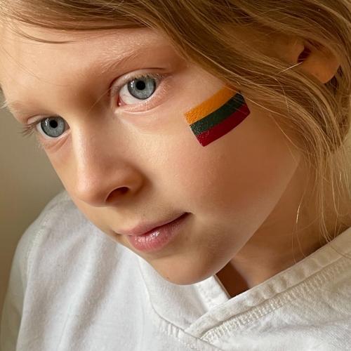 Tatuiruočių rinkinys Proud to be Lithuanian
