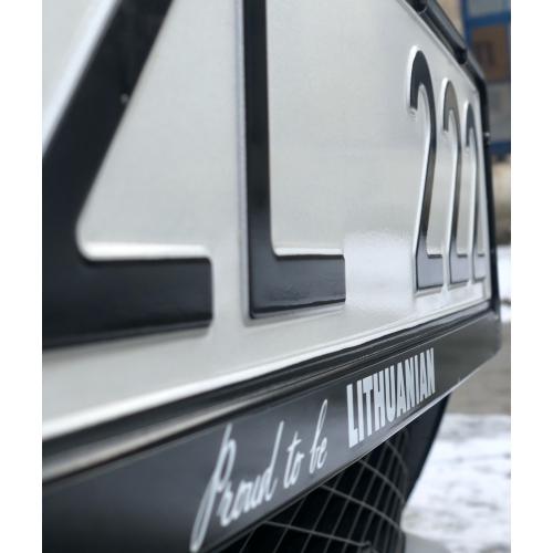 Automobilių numerių rėmeliai
