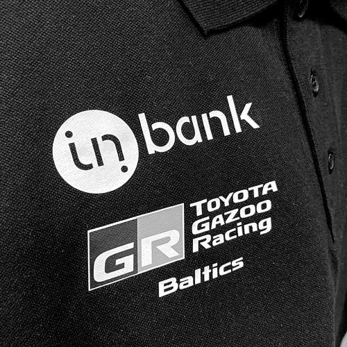 "Polo marškinėliai ""Inbank TOYOTA GAZOO Racing Baltics"""