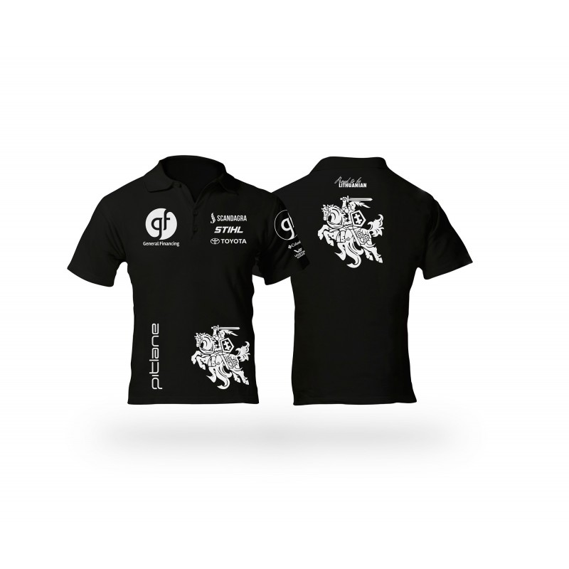 "Polo marškinėliai ""General Financing team Pitlane"""