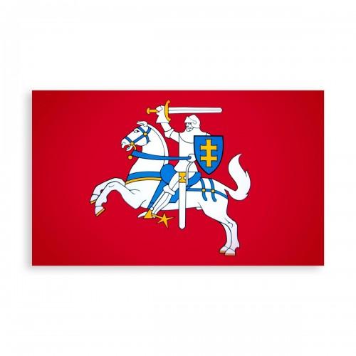 Įrėminta Lietuvos istorinė vėliava