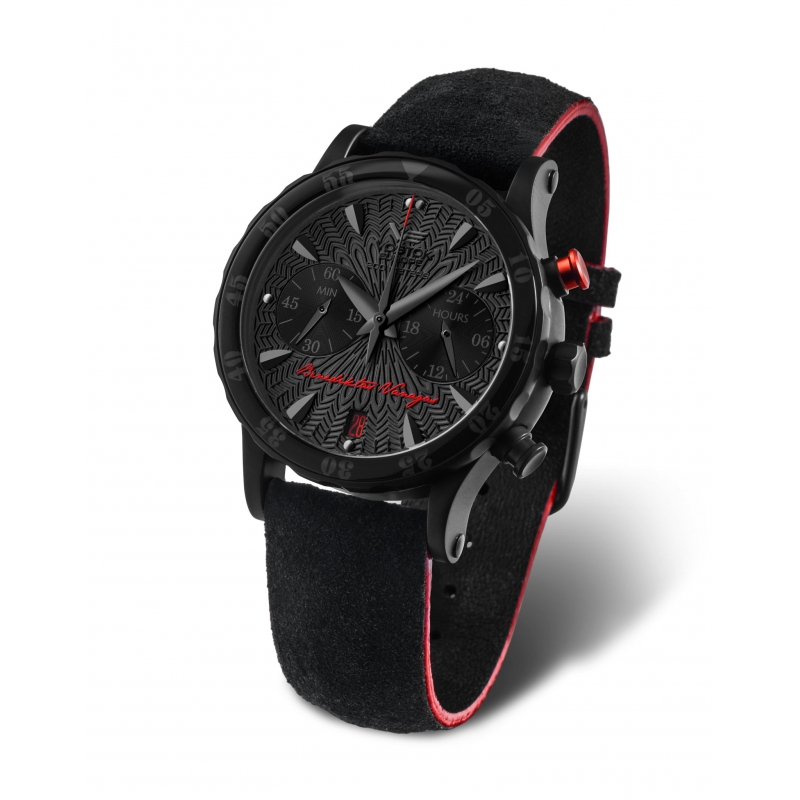 "Benedikto Vanago vardinis laikrodis ""Black Edition Ladies Design"""