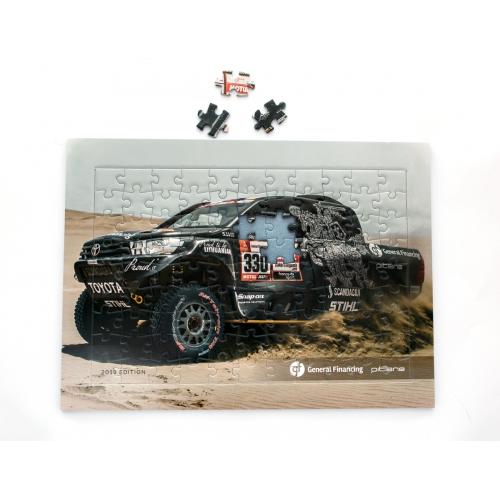 """Dėlionė """"Dakaras 2019"""""""