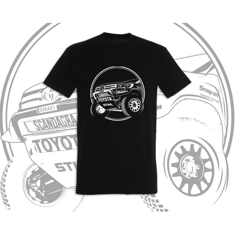 Vyriški marškinėliai Toyota Hilux II